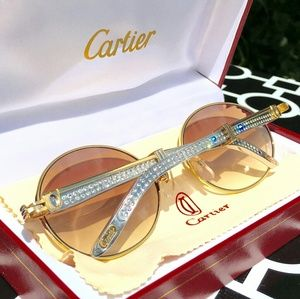 DIAMOND CARTIER LIMITED EDITION GLASSES!!!